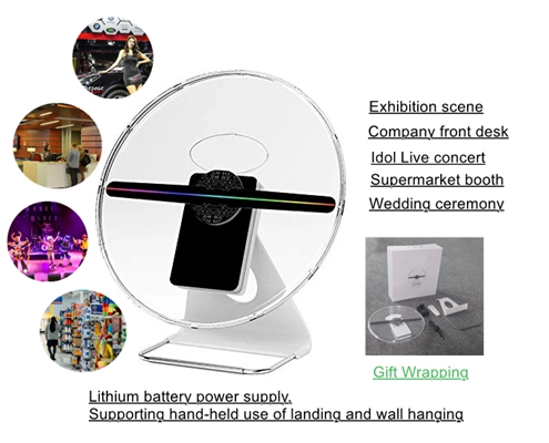 3D Hologram LED Fan Display   360DS