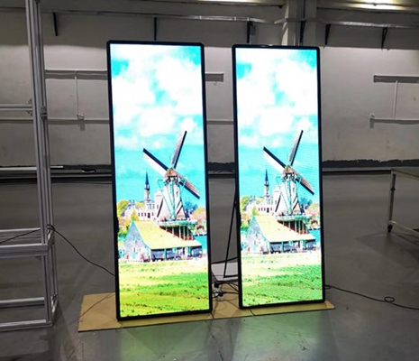 Led Poster Display Multi Screen Led Poster Screen 360ds
