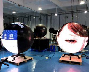Sphere LED Display